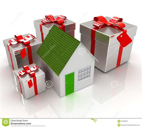 house gifts house and gifts stock image image 36108351