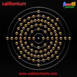 Number Of Protons In Californium Californium 187 Properties Of Free Atoms Webelements Periodic