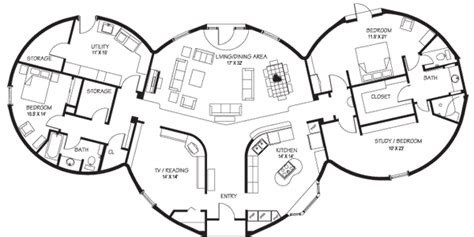 hobbit house floor plans floor plans www dome homes