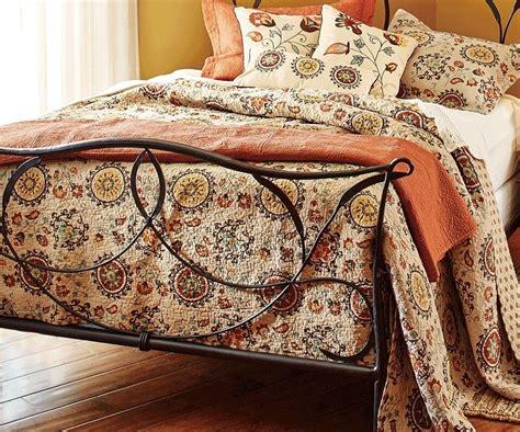 andorra mocha brown king quilt set tuscan boho medallian exotic morocco ebay
