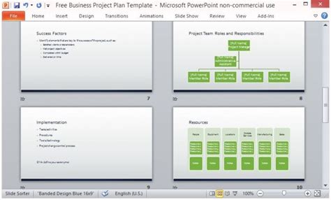 Free Business Project Plan Template For Microsoft Powerpoint Free Project Plan Template Powerpoint