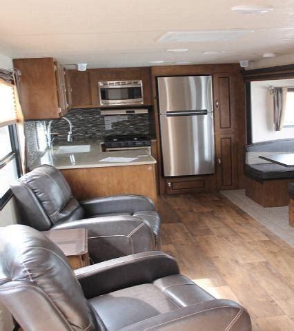 2018 forest river salem 27rkss travel trailer rear kitchen