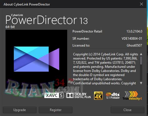 cyberlink powerdirector ultimate v13 0 full patch tsarsoft