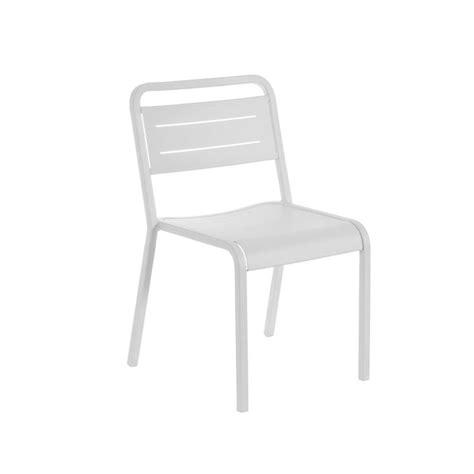 chaise emu chaise jardin design emu aluminium empilable
