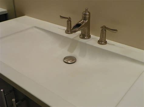 integral bathroom sink and countertop integral concrete sinks