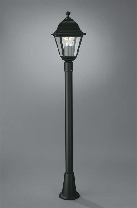 black outdoor post lights black outdoor post light garden l post lima 1 metre