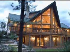 custom log home plans custom log home cabin floor plan youtube