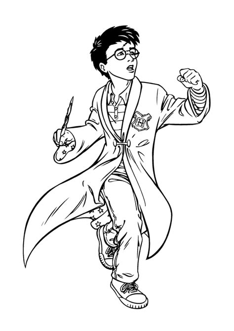 harry potter coloring pages to print free coloring pages of harry potter color pages