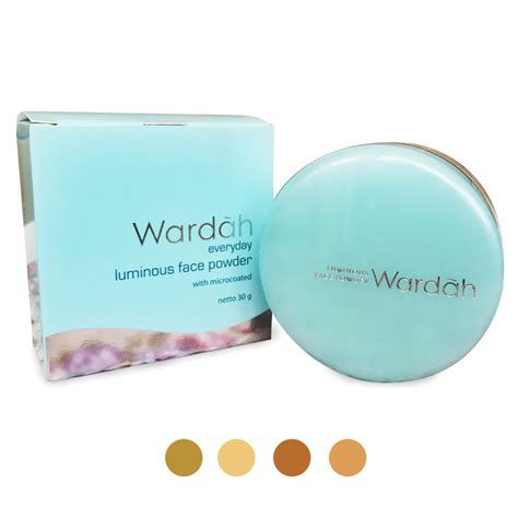 Bedak Wardah Luminous Powder wardah everyday luminous powder elevenia