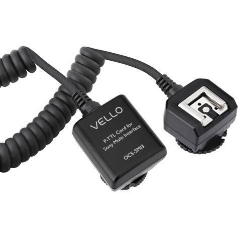 Nissin I40 Fujifilm International vello ttl flash cord for sony cameras ocs smi3 b h