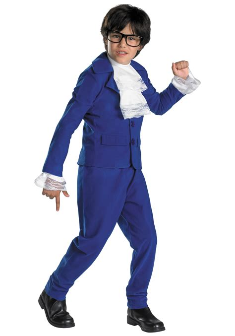 comfortable costumes boys austin powers deluxe costume