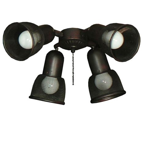hunter light kits for ceiling fans home depot hunter fan light kit home depot indoor brushed nickel
