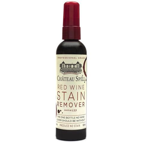 Wine Stain Removal by Chateau Spill Wine Stain Remover