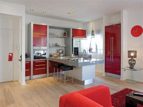 red home decor ideas apartments how to decorate a small studio apartment decor