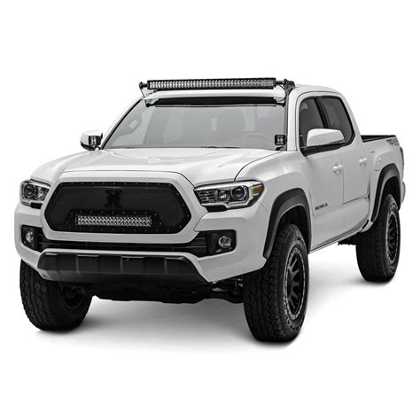 toyota tacoma led lights zroadz 174 toyota tacoma 2017 roof mounted curved led light bar