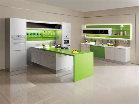 Green And White Kitchen Cabinets Oppein Kitchen Cabinets Acrylic Series Green And White Kitchen Cabinet Oppein Solid Surface