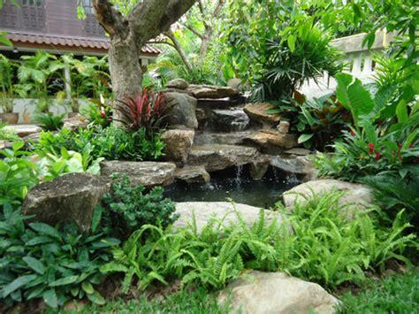 Thai Garden by Thai Garden Waterfall Thai Garden Design