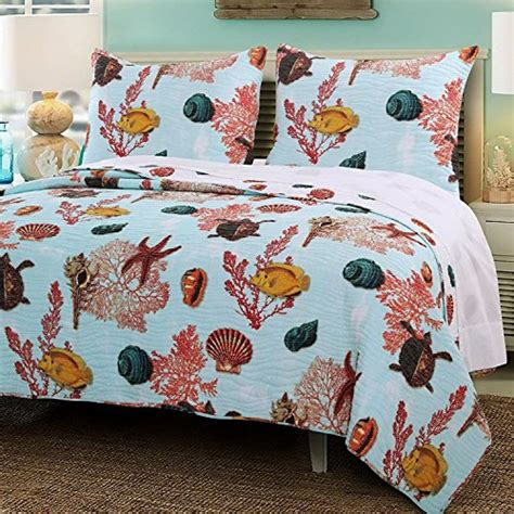 starfish comforter set starfish bedding and quilt sets beachfront decor