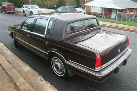 chrysler new yorker fifth avenue for sale used cars on buysellsearch 1992 chrysler new yorker fifth avenue for sale photos technical specifications description