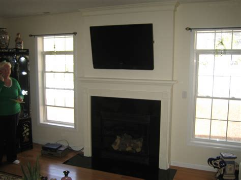 Fireplace With Tv Mount by Fireplaces With Tv Above 2015 Home Design Ideas