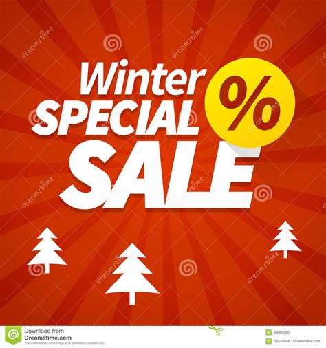 ideas winter sale winter special sale poster stock vector image of discount