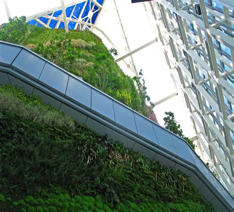torre de cristal vertical garden blanc