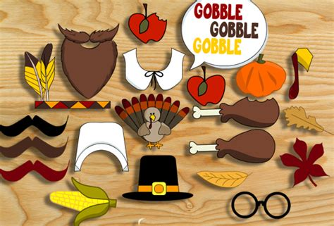 printable photo booth props thanksgiving thanksgiving photo booth props free printable