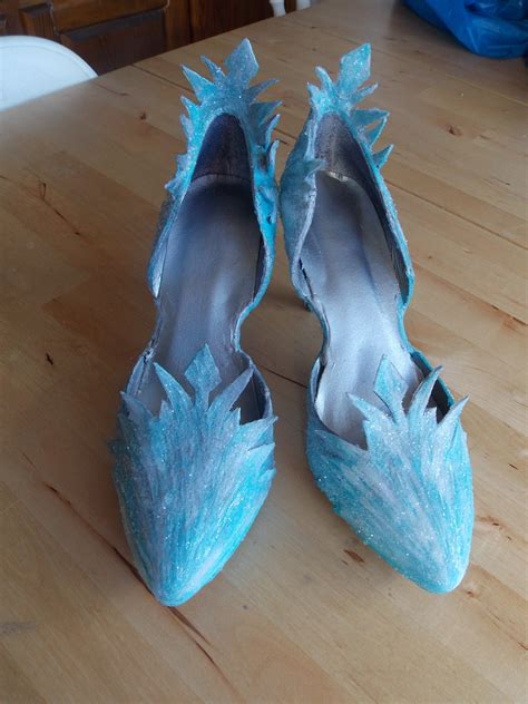 elsa shoes elsa shoes progress start to finish valravn