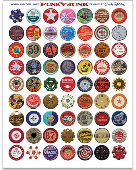printable round sticker paper vintage labels worldlabel blog