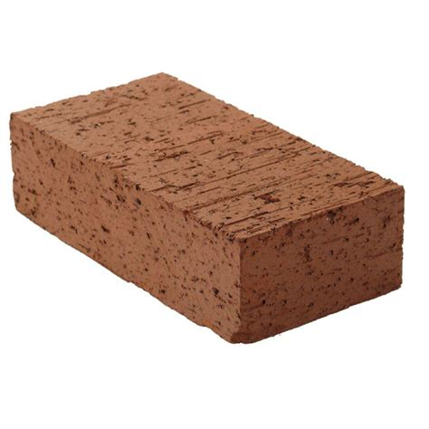 home depot decorative bricks 8 in x 2 1 4 in x 4 in clay brick red0126mco the home