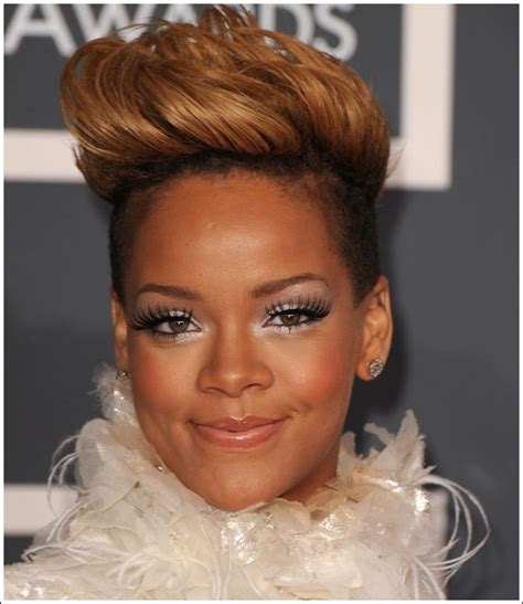 7 Hair Styles For 2010 by American Rihanna Hairstyles Trends For Summer 2010