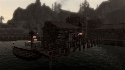 raven rock house raven rock dock home at skyrim nexus mods and community