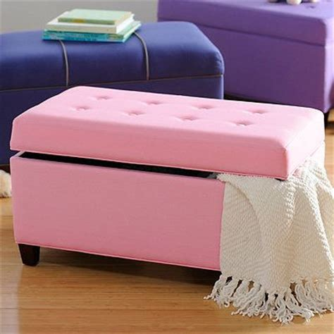 girls storage bench girls pink storage bench kid s rooms pinterest