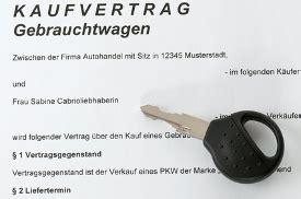 Auto Kaufvertrag Zur Cktreten by Auto Kaufvertrag Muster Kostenlos Downloaden