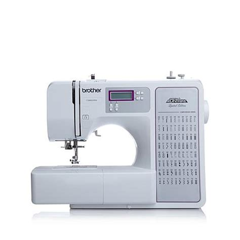 "brother ""project runway"" all in one sewing machine"