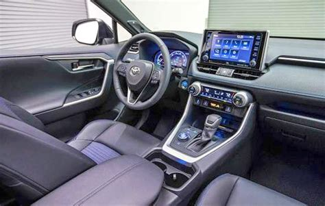toyota rav4 2020 interior 2020 toyota rav4 release date redesign and review