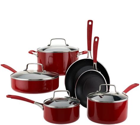 Kitchenaid 10 Cookware Set by Kitchenaid 10 Aluminum Nonstick Cookware Set Page