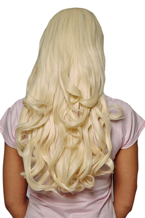pre curled hair extensions big bouncy curly pre styled synthetic hair 3 4