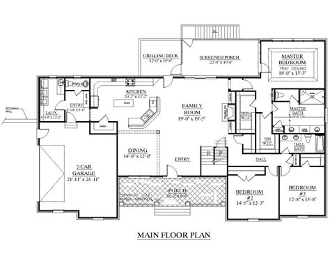 4000 square foot ranch house plans best of 100 2000 sq