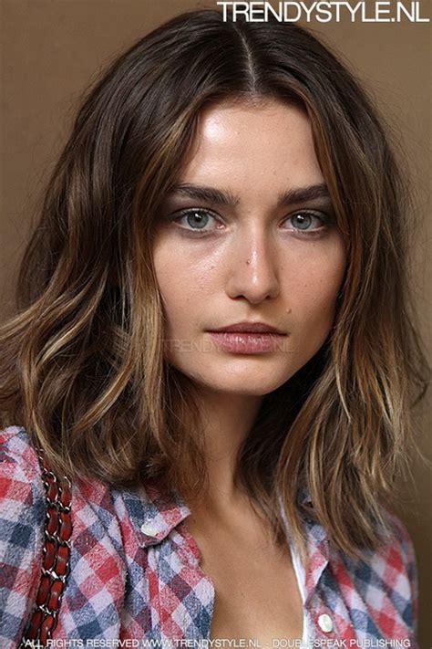 Haarstijlen Halflang by Kapsels Kort Tot Halflang Haar
