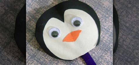 How To Make A Penguin With Paper - how to make a simple paper penguin with your 171