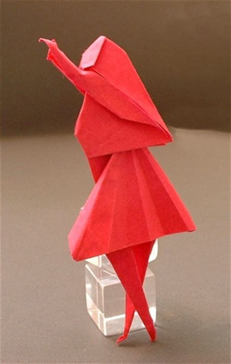 Origami Person - origami tutorial origami handmade