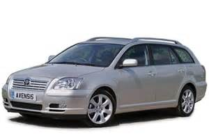 Toyota Avensis Toyota Avensis Tourer Review 2003 2008 Parkers