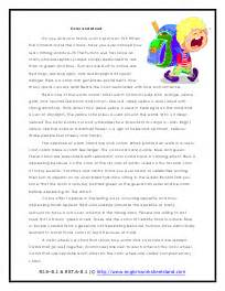 light and colors reading comprehension worksheets