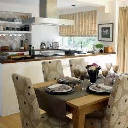Opening Kitchen To Dining Room Stylish Open Plan Kitchen Dining Room Housetohome Co Uk
