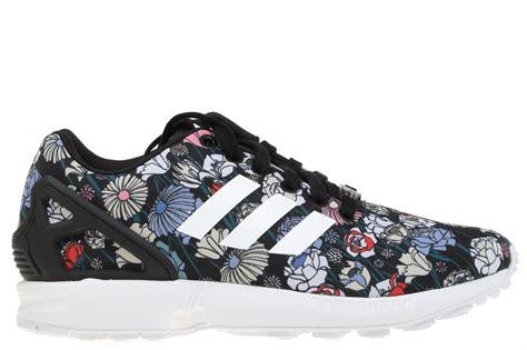imagenes de zapatillas con flores zapatillas adidas originals zx flux negro con flores