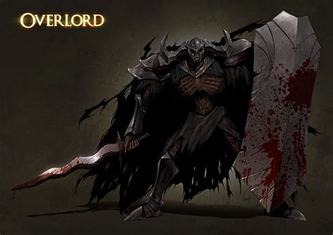 film anime overload anime overlord death knight overlord wallpaper anime