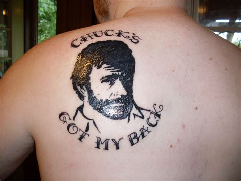 shit tattoo chuck norris images chuck s got my back hd wallpaper and