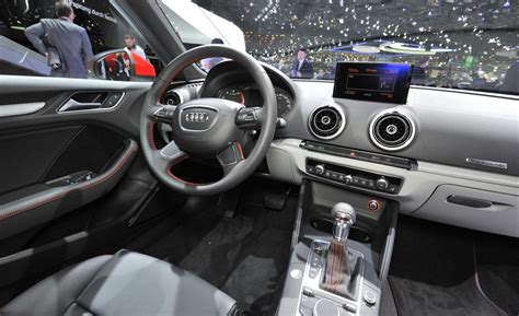 audi shows 2013 a3 interior at ces car and driver blog car and driver
