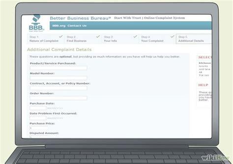 Complaint Letter Better Business Bureau How To File A Complaint With The Better Business Bureau